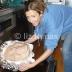 Lomax baking Paula Deen