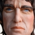 Sculpture of Noel Gallagher by Liz Lomax