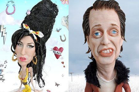 Amy Winehouse & Steve Buscemi