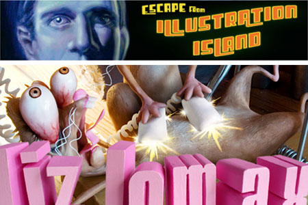 Podcast interview on Escape from Illustration Island