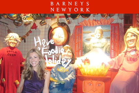 "Barneys NY ""Have a Foodie Holiday"" Windows 2010"